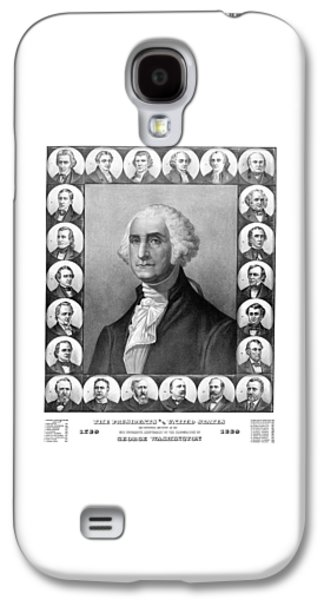 Thomas Jefferson Galaxy S4 Cases - Presidents of The United States 1789-1889 Galaxy S4 Case by War Is Hell Store