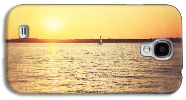 Bathroom Prints Galaxy S4 Cases - Presque Isle Sunset Galaxy S4 Case by Lisa Russo