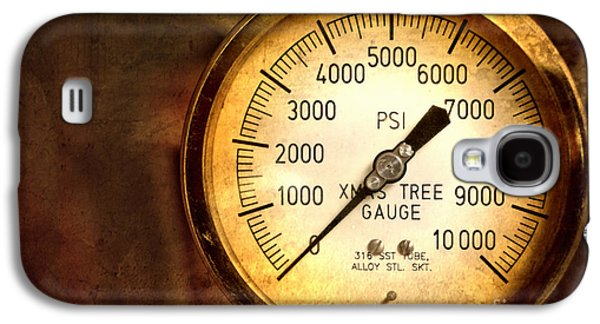 Pressure Gauge Galaxy S4 Case by Charuhas Images