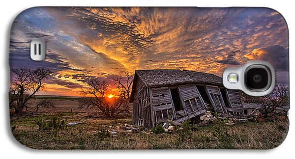 Abandoned House Photographs Galaxy S4 Cases - Prestige Galaxy S4 Case by Thomas Zimmerman
