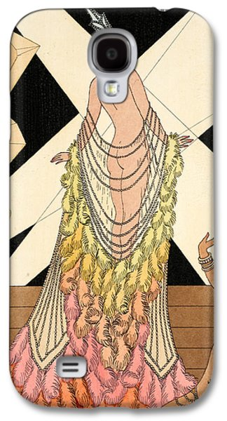 Slaves Drawings Galaxy S4 Cases - Pride Galaxy S4 Case by Georges Barbier