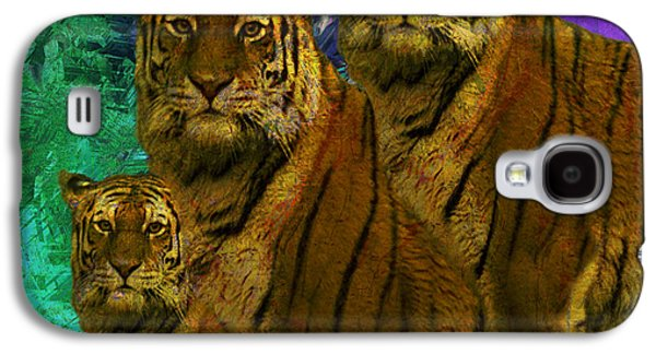 Abstract Digital Paintings Galaxy S4 Cases - Pride Galaxy S4 Case by Jack Zulli
