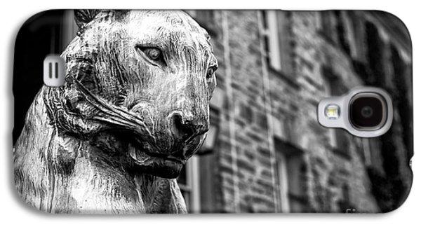 Statue Portrait Galaxy S4 Cases - Princeton Tiger Portrait Galaxy S4 Case by John Rizzuto