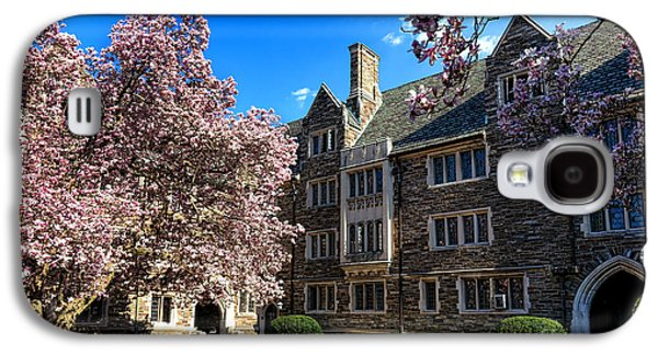 Princeton University Pyne Hall Courtyard Galaxy S4 Case by Olivier Le Queinec