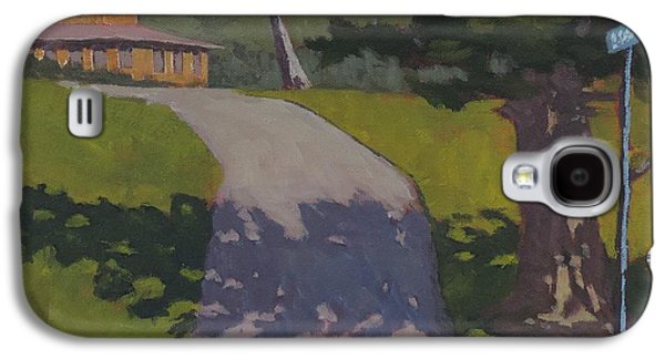 Maine Roads Paintings Galaxy S4 Cases - Private Road Galaxy S4 Case by Bill Tomsa
