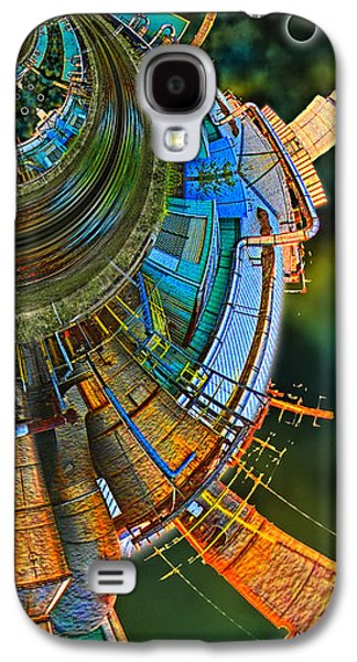 Photo Manipulation Galaxy S4 Cases - Processing Point 2 Galaxy S4 Case by Wendy J St Christopher
