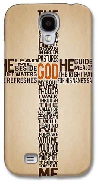 Psalm 23 Galaxy S4 Case by Art Spectrum