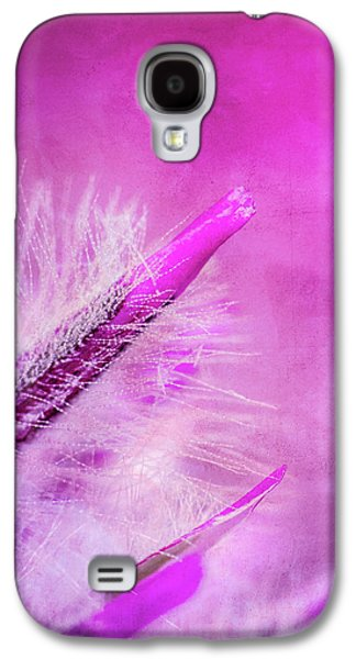 Abstracted Galaxy S4 Cases - Ptilotus Macro Textured Galaxy S4 Case by Wim Lanclus