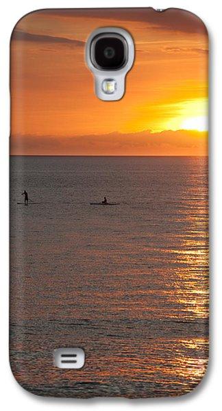 Red Photographs Galaxy S4 Cases - Puerto Vallarta Sunset Galaxy S4 Case by Sebastian Musial