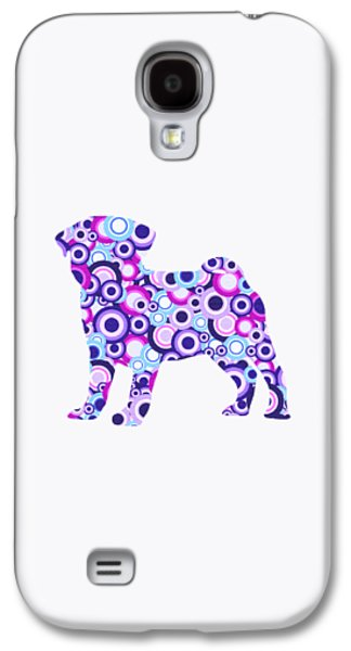 Pug - Animal Art Galaxy S4 Case by Anastasiya Malakhova