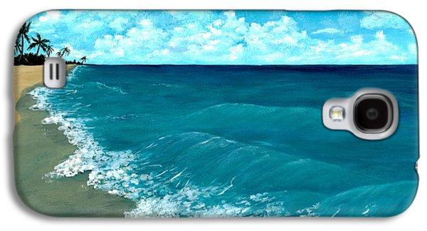 Punta Cana Beach Galaxy S4 Case by Anastasiya Malakhova