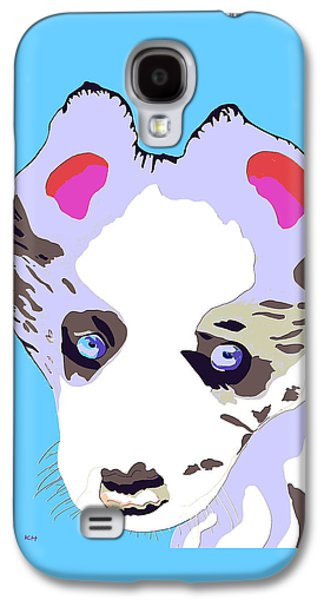 Puppies Galaxy S4 Cases - Puppy Galaxy S4 Case by Karen Harding