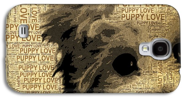 Puppies Galaxy S4 Cases - Puppy Love Galaxy S4 Case by Stacey Chiew