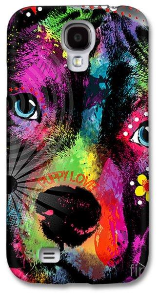 Puppy  Galaxy S4 Case by Mark Ashkenazi