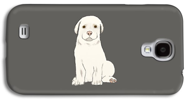 Dogs Digital Galaxy S4 Cases - Puppy Galaxy S4 Case by Priscilla Wolfe