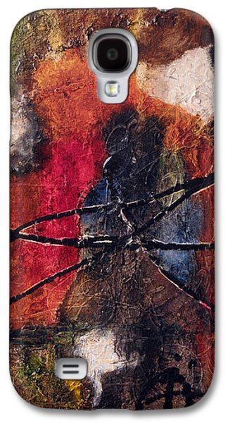 Abstracted Reliefs Galaxy S4 Cases - Pure Emotion Galaxy S4 Case by Jill English
