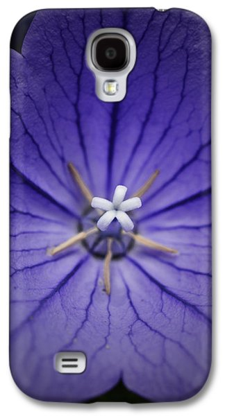 Colorful Abstract Galaxy S4 Cases - Purple Balloon Flower Galaxy S4 Case by Richard Andrews
