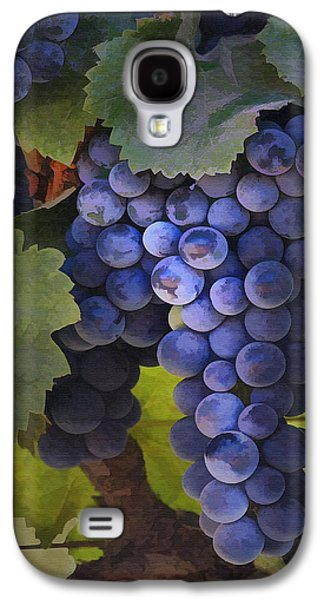 Grape Leaf Galaxy S4 Cases - Purple Blush Galaxy S4 Case by Sharon Foster