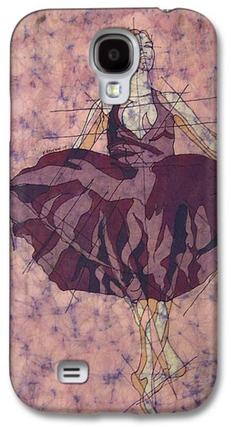 Ballet Dancers Tapestries - Textiles Galaxy S4 Cases - Purple Dancer Galaxy S4 Case by Kevin Houchin