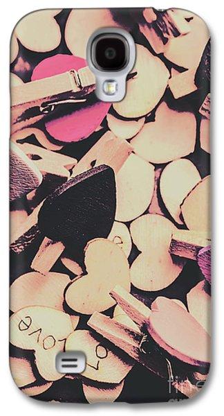 Purple Messy Love Galaxy S4 Case by Jorgo Photography - Wall Art Gallery
