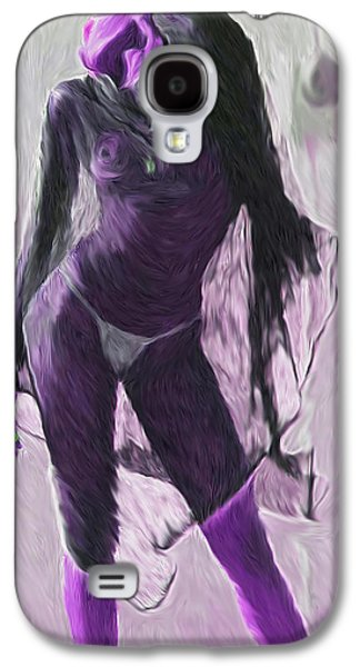 African-american Galaxy S4 Cases - Purple Reign Galaxy S4 Case by Tyler Watts KyddCo