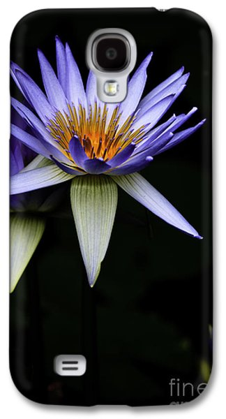 Purple Waterlily Galaxy S4 Case by Avalon Fine Art Photography