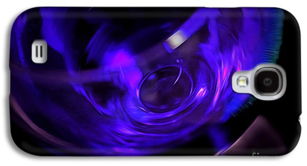 Purple Wine Galaxy S4 Case by Krissy Katsimbras