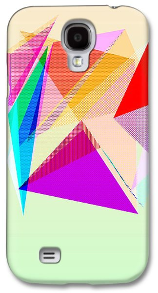Abstract Digital Drawings Galaxy S4 Cases - Puzzling Galaxy S4 Case by TheseRmyDesigns