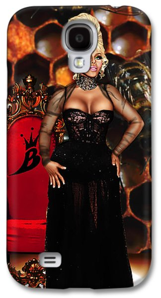 Kim Digital Art Galaxy S4 Cases - Queen Bee Galaxy S4 Case by Davonte Bailey
