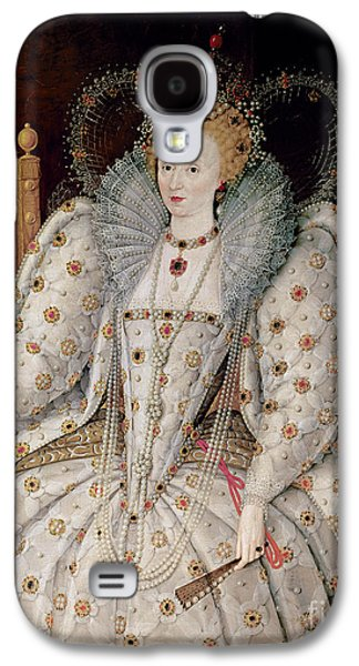 Jewellery Galaxy S4 Cases - Queen Elizabeth I of England and Ireland Galaxy S4 Case by Anonymous