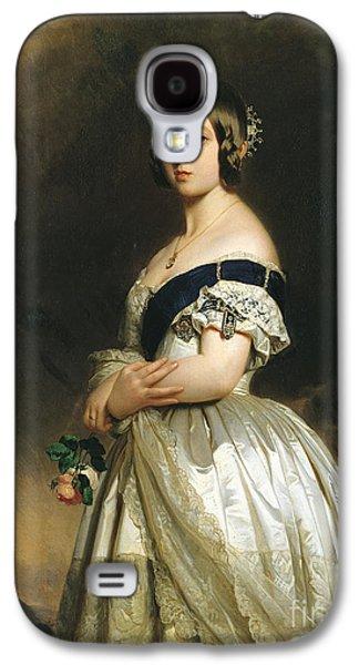 Queen Victoria Galaxy S4 Case by Franz Xaver Winterhalter