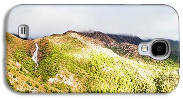 Queenstown Tasmania Wide Mountain Landscape Galaxy S4 Case by Jorgo Photography - Wall Art Gallery