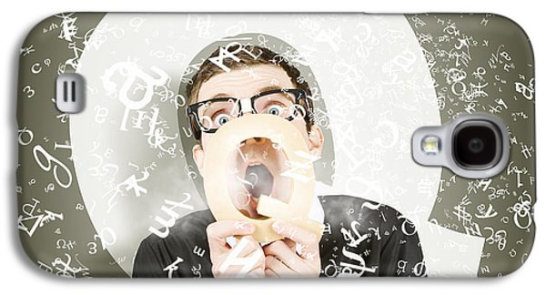 Questions And Answers Galaxy S4 Case by Jorgo Photography - Wall Art Gallery