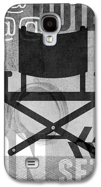 Behind The Scenes Galaxy S4 Cases - Quiet On Set- Art by Linda Woods Galaxy S4 Case by Linda Woods