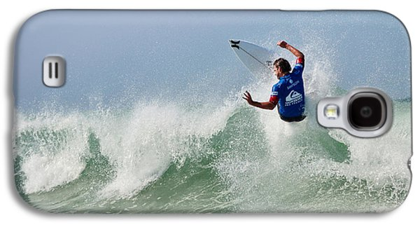 Surfer Magazine Galaxy S4 Cases - Quiksilver Pro France I Galaxy S4 Case by Thierry Bouriat