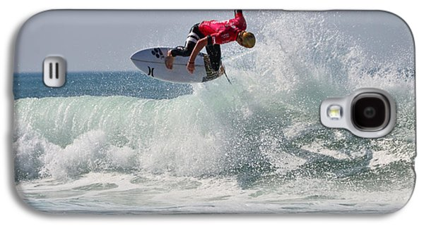 Surfer Magazine Galaxy S4 Cases - Quiksilver Pro France II Galaxy S4 Case by Thierry Bouriat