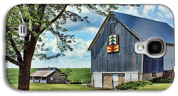 Quilt Barn - Nebraska - Forest For The Trees Galaxy S4 Case by Nikolyn McDonald