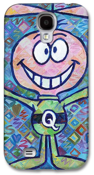 Quaker Paintings Galaxy S4 Cases - Quisp 2 Galaxy S4 Case by Randal Huiskens