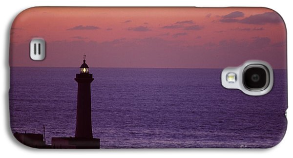 Rabat Photographs Galaxy S4 Cases - Rabat Morocco Lighthouse Galaxy S4 Case by Antonio Martinho