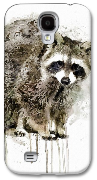 Raccoon Galaxy S4 Case by Marian Voicu