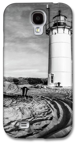 Race Point Light Provincetown Ma Bw Galaxy S4 Case by Susan Candelario