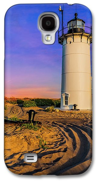 Race Point Light Provincetown Ma Galaxy S4 Case by Susan Candelario