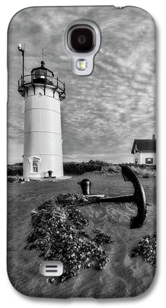 Race Point Lighthouse Bw Galaxy S4 Case by Susan Candelario