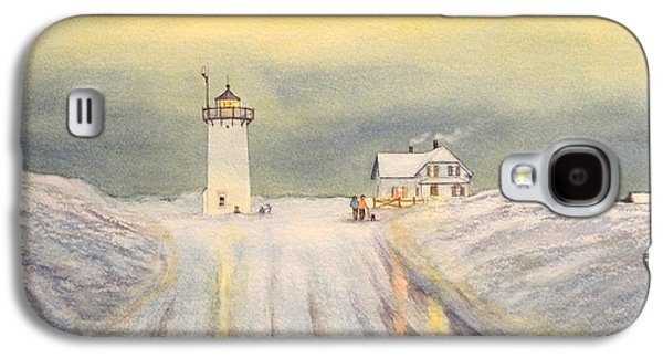 Race Point Lighthouse Provincetown Galaxy S4 Case by Bill Holkham