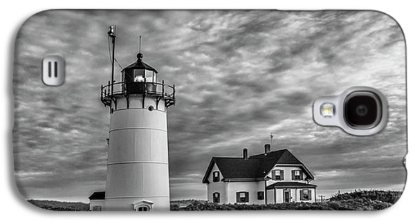Race Point Lighthouse Sunset Bw Galaxy S4 Case by Susan Candelario