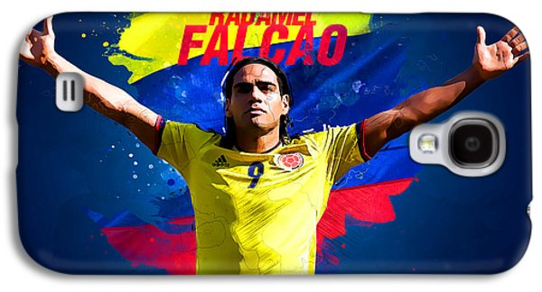 Radamel Falcao Galaxy S4 Case by Semih Yurdabak