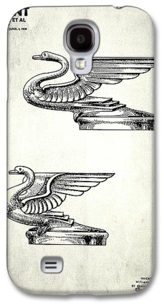Hood Ornament Photographs Galaxy S4 Cases - Radiator Cap Patent 1931 Galaxy S4 Case by Mark Rogan