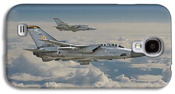 Fighters Digital Art Galaxy S4 Cases - RAF Tornado Galaxy S4 Case by Pat Speirs