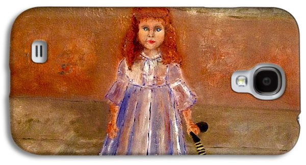 Toy Store Paintings Galaxy S4 Cases - Rag Doll Baby Galaxy S4 Case by Yolanda Terrell