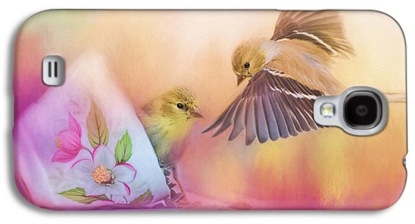 Raiding The Teacup - Songbird Art Galaxy S4 Case by Jai Johnson